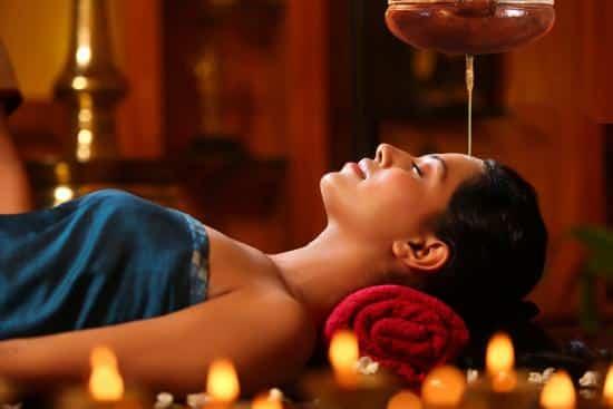 Shirodhara Massage, A best ayurvedic Massage in Trivandrum